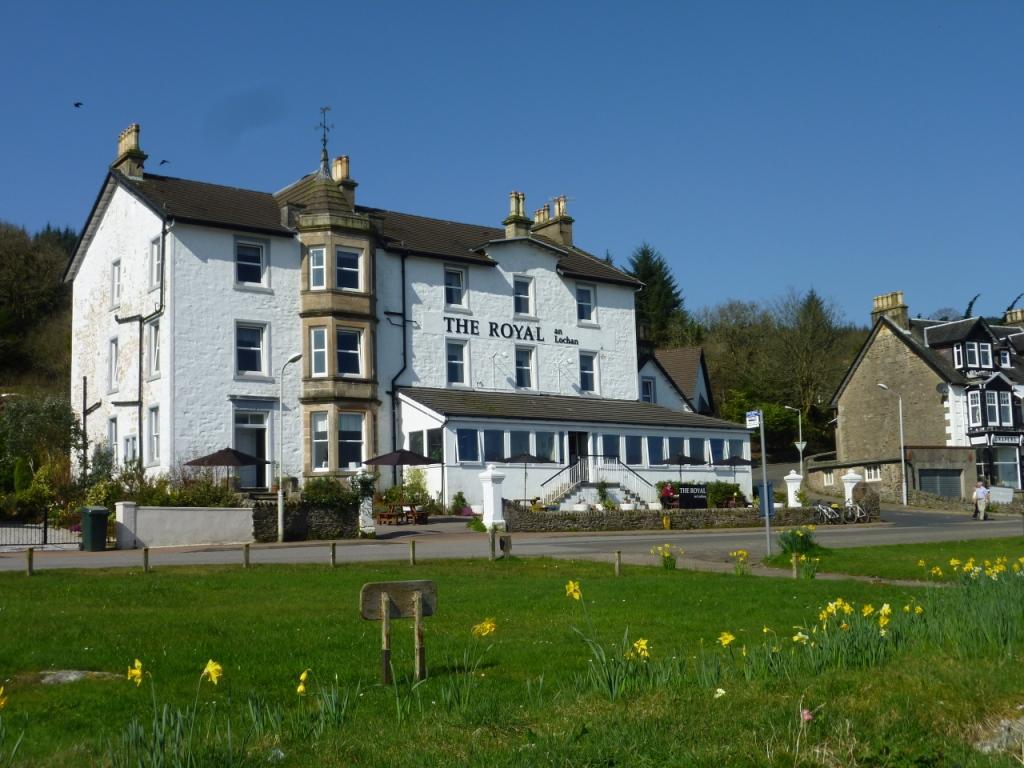 The Royal an Lochan Hotel