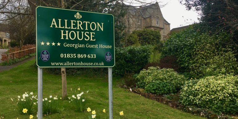 allerton house sign