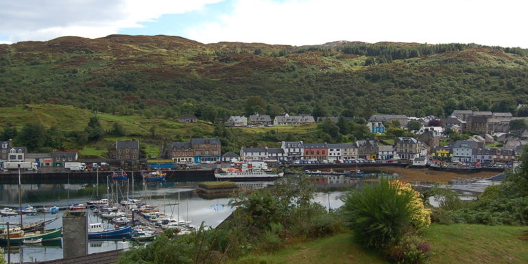 Lochside Hotel for Sale Tarbert