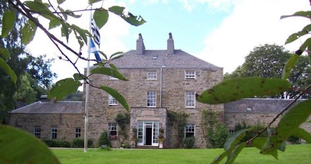 Dunfallandy House front