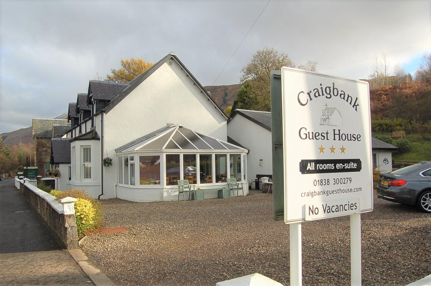 Craigbank Guest House.