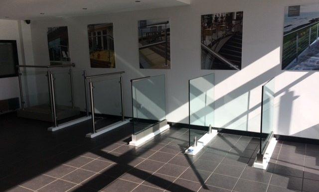 Handrail showroom